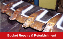 Bucket Repairs & Refurbishments